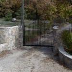 David Beckham's gate at Domaine Saint-Vincent
