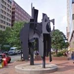 'Sky Landscape' by Louise Nevelson (StreetView)