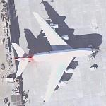 A-380 (Qantas Airways) (Google Maps)