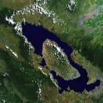 Toba Volcano: The near Extinction of Mankind (Google Maps)