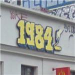'1984' graffiti