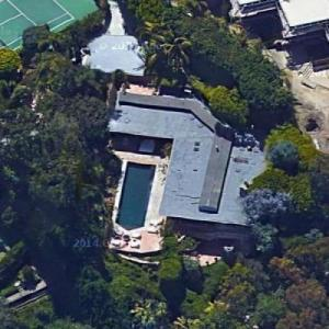 Chris Martin's House (Google Maps)