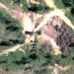 Creepy face (Google Maps)