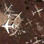 Aircraft boneyard (Google Maps)
