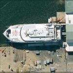 Natchan World - Incat Hull 065 (Google Maps)