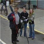 Filming in progress (StreetView)