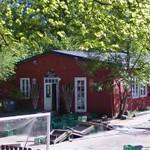 Last remaining buildings of Ryvangen Barracks