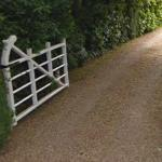 Gate to Headley Grange