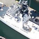 USCGC Bertholf (WMSL-750) Legend-class maritime security cutter (Google Maps)