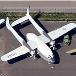 Fairchild C-119G 'Flying Boxcar' (Google Maps)