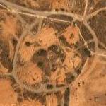 Demolished SA-2 missile site (Google Maps)