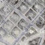 Demolished petroleum tank farm (Google Maps)