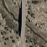 Castlewood Canyon Bridge (Google Maps)