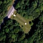 Aveluy Wood Cemetery, Lancashire Dump (Google Maps)