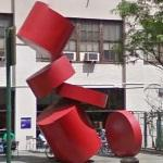 'Balanced Cylinders' by Paul Sisko (StreetView)