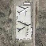B-52 and KC-135 on static display (Google Maps)