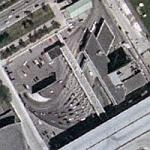 Detroit & Windsor Tunnel (Detroit side) (Yahoo Maps)