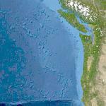 Juan de Fuca Plate (Yahoo Maps)