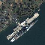 USS Missouri (BB-63) (Yahoo Maps)