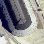 Dirigible USS Macon's Hangar 1 (Yahoo Maps)