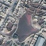 Another Blood-red pool in Baghdad (Yahoo Maps)
