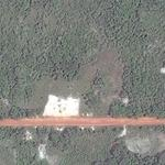 Surinam Airways Flight 764 crash site (Yahoo Maps)