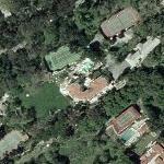 Arnold Schwarzenegger's House (former) (Yahoo Maps)