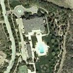 Denzel Washington's House (Yahoo Maps)