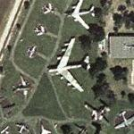 Boeing B-52D Stratofortress at Castle Air Museum (Yahoo Maps)