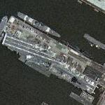 USS Intrepid (Yahoo Maps)