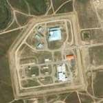 Peacekeeper Missile weapons storage facility (Yahoo Maps)