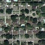 Beyonce Knowles' Childhood Home (Yahoo Maps)