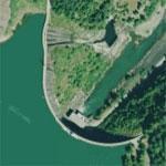 Alder Dam (Yahoo Maps)