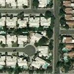 Dennis Farina's House (Yahoo Maps)