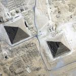 Pyramids of Giza (Yahoo Maps)