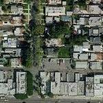 Paz Vega's House (Yahoo Maps)