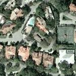 Jim Courier's House (Yahoo Maps)