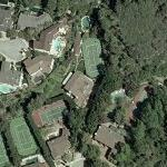 Ashton Kutcher's House (former) (Yahoo Maps)