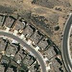 Jay Roach & Susanna Hoffs' House (Yahoo Maps)
