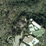 Burt Bacharach's House (former) (Yahoo Maps)