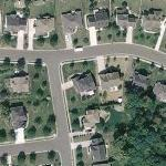 Todd Bodine's House (Yahoo Maps)