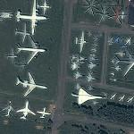 The Central Air Force Museum in Monino (Yahoo Maps)