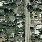 Melissa Gilbert & Bruce Boxleitner's House (Yahoo Maps)