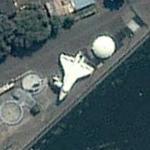 Soviet Space Shuttle (Yahoo Maps)