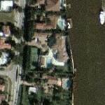 Jamal Mashburn's House (Yahoo Maps)