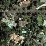Kirk Douglas' House (Yahoo Maps)