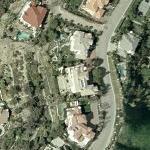 Cindy Herron & Glenn Braggs' House (Yahoo Maps)