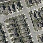 Marion Jones' House (Yahoo Maps)