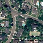 Al Davis' House (Yahoo Maps)