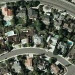Martin Milner's House (Yahoo Maps)